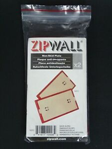 Zipwall Nsp2 Non skid Plates Set Of 2 Brand New And Sealed