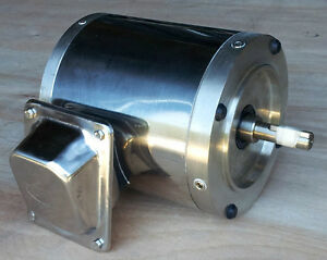 On Sale Gator Stainless Steel Ac Motor 3 4 Hp 1800rpm 56c Tenv 3 Phase