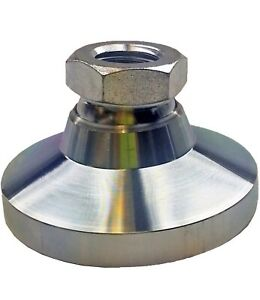 w Winco 10nnw1 Series 343 1 Carbon Steel Tapped Socket Type Leveling Mount