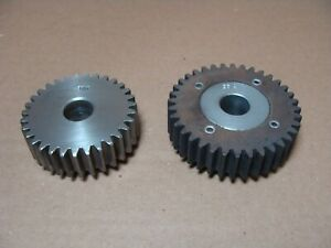 Winona Van Norman Ph 2000 Guide And Seat Machine Gear Set med Speed 31t 36t