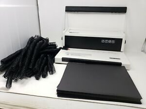 Trubind Tb s20 Spiral Coil Binding Machine Coil Spines And Polycover Sheets