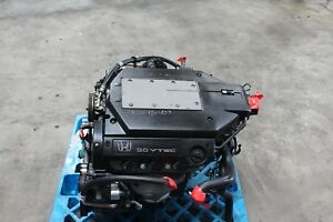 2000 To 2002 Coil Type J30a Vtec 3 0l Honda Accord V6 J30a1 Jdm Engine Only