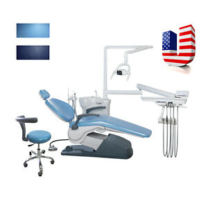 Silla Dental Computer Controlled Examination Chair Hard Leather Unit Chair Cah