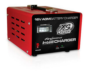 Xs Power Battery Charger Agm Intellicharger 16v 20 Amp Each 1004