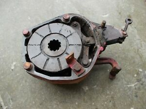 International Farmall 444 Ih Tractor Orgnl Right Brake Assembly W Good Cover