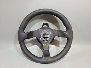 Sparco Steering Wheel Black Suede Not Quick Realease Complete