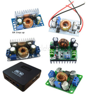 Dc dc Boost Converter Step Up Step Down Power Adjustable Portable Charger