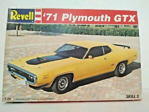 Revell 71 Plymouth Gtx 124 7608 Open Parts Sealed Complete 1995