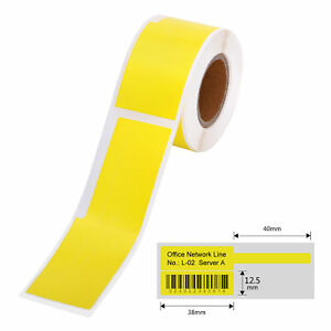 Cable Label Self adhesive Thermal Printing Sticker Paper Waterproof H3m6