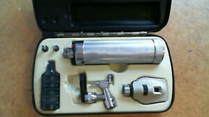 Welch Allyn Diagnostic Set Ophth 114 Oto 216 D Cells Handle