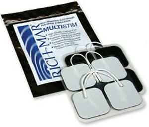 Richmar Multistim Superstim Electrodes 4 Different Sizes Available Pack Of 40