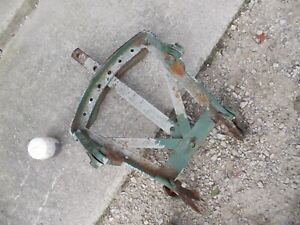 Oliver 70 Tractor Original Drawbar Assembly W Tongue Hitch