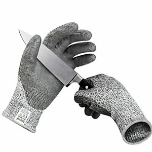 Cut Resistant Gloves Ieovo Level 5 Protection Food Grade Safety Kitchen Wood