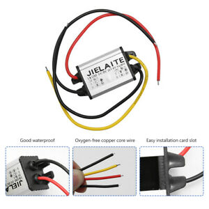 Waterproof Converter Step Down Volt Module Power Supply 12v To 6v Dc 18w 3a Us