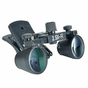 2 5x r Clip Dental Surgical Medical Loupes Binocular Magnifier Dy 109 160mm