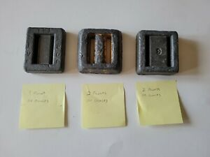 Hard Lead Weights Scuba Dive Lace Thru 3 Lead Weights See Description $19.99