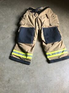 Mfg 2011 Globe Gxtreme 38 X 30 Firefighter Turnout Bunker Pants Fire Rescue