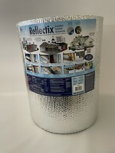 Reflectix 24in X 100ft 200sqft Double Reflective Insulation Roll Vapor Barrier