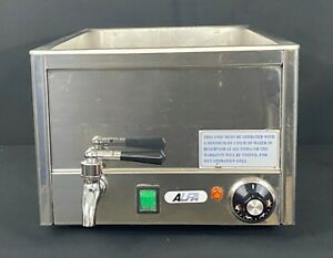 Alfa Commercial Food Warmer Used Electric