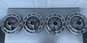 Vintage Classic Chevrolet Chevy Ss Belair Impala Hubcaps Wheel Covers
