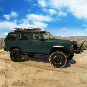 Fit For 1984 2001 Jeep Cherokee Xj Jeep Rock Slider Side Step
