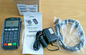 Nib Ingenico Ipp320 Pin Pad Payment Terminal Swipe Card Reader Cable Charger