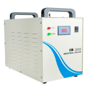 New Industrial Water Chiller Cw 3000 For Cnc Laser Engraver Engraving Machine A