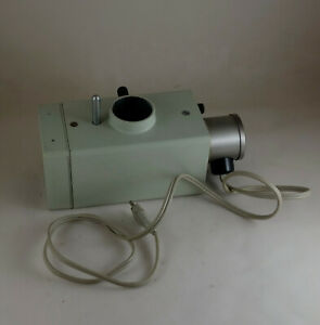 Microscope Part Carl Zeiss Jena Lamp House For Spectroscope Spekol With Lamp
