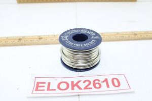 Oatey Solder Lead free 7oz Silver Wire Very Good Condition 7 Ozs Left