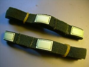 Lot of 2 Olive Drab Military Reflective CATS EYE BAND Helmet Pasgt Mich ACH $15.95