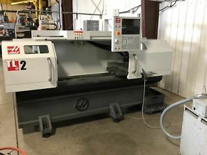 Haas Tl 2 Cnc Lathe 2019 4 station Automatic Tool Turret Tailstock