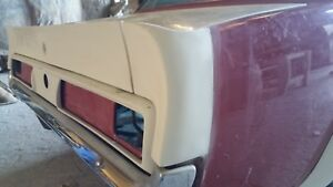 1964 1966 Ford Mustang Coupe Trunk Lid Spoiler Withend Caps Fits 1965 Mustang