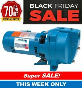 Goulds J5s Shallow Water Well Jet Pump 1 2 Hp 115 230v Same Day Shipping