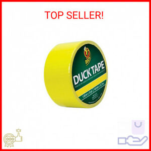 Duck Brand Color Duct Tape 1 88 In X 15 Yds atomic Yellow