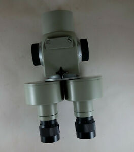 Microscope Part Carl Zeiss Jena Stereo Lupe Magnification 0 63x 1x 1 6x 2 5x 4x