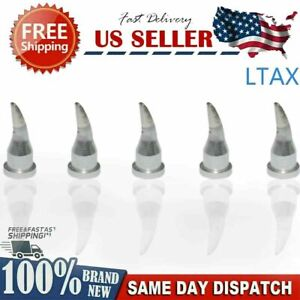 5 Pcs For Wilo Weller Ltax 1 6mm Curved Cone Brand New Soldering Tip Ltax Tools