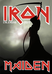 Iron Maiden 2022 A3 Size Wall Calendar Brand New And Sealed