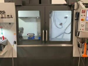 Haas Vf 4ss Vmc 2019 Tr200y 5 axis Trunnion Wips Chip Auger 1000 Psi Tsc