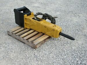2016 Indeco Hp1000 Hydraulic Hammer Breaker Fits Tag Quick Coupler