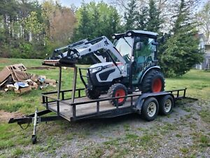 Bobcat Ct2535 Compact Tractor W loader cab Heat ac 4x4 hydro 540pto