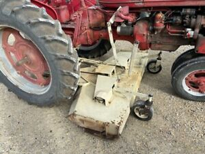 Farmall C Super C 200 230 Ih Tractor Woods L306 Belly Mower Hitch Step Plate