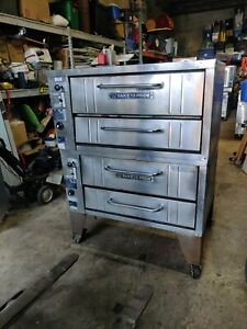 Bakers Pride Pizza Ovens Gas Model 151 Double Stack
