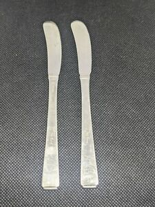 Towle Old Lace Solid Sterling Silver 925 Spreader Knife Lot 56 5 Grams Signed
