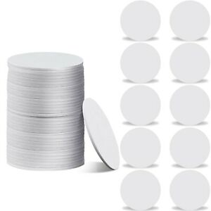 100 Pieces Nfc215 Tag Blank White Pvc Nfc Coin Cards Nfc Cards Compatible Wit