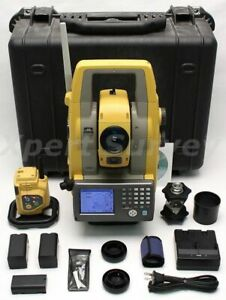 Topcon Ps 103a Power Station 3 Robotic Total Station W Atp1 Prism Ps103a