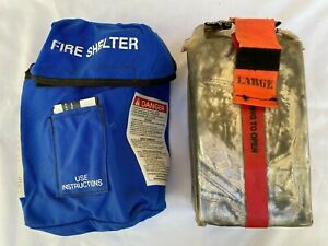 New Generation Forest Wildland Large Fire Shelter 2007 With Blue Case
