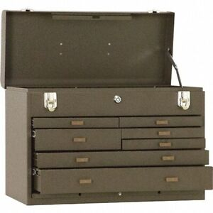Kennedy 7 Drawer Tool Chest 20 1 Wide X 8 5 Deep X 13 6 Tall Brown Steel