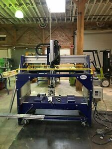 Shopbot 5 axis Cnc Router 72 x34 x24 2012 6ft Powerstick Video Available