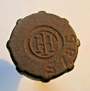 International Ihc Cast Iron Grease Cup s786 Hit Miss Stationary Engine