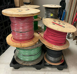 Pallet Scrap Copper Cable 2 4 6 10 Awg Gauge Retail Value Over 9080